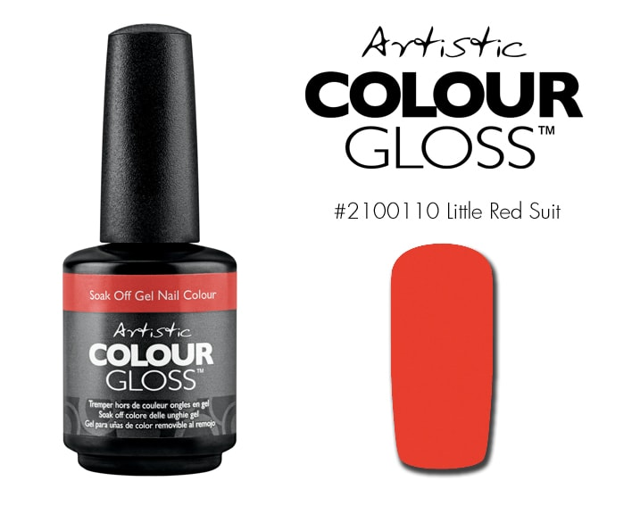 COLOUR GLOSS LITTLE RED SUIT