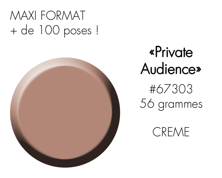 PRIVATE AUDIENCE 56GR : nude beige foncé