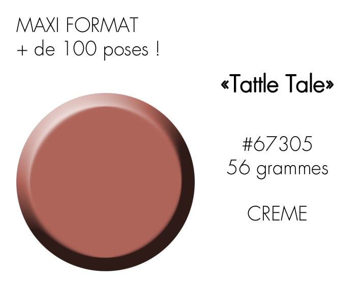 TATTLE TALE 56GR : nude rosé marron