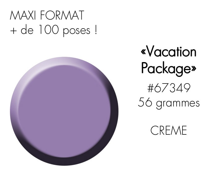 VACATION PACKAGE 56GR : lilas