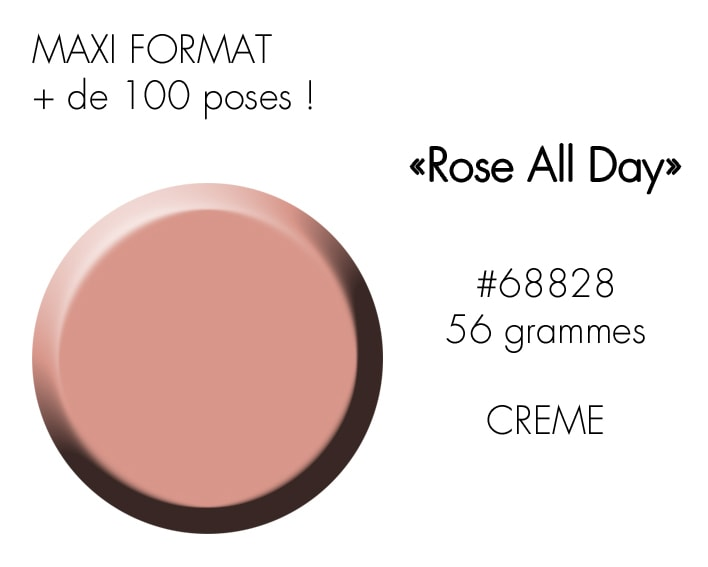 ROSE ALL DAY 56GR : NUDE ROSE