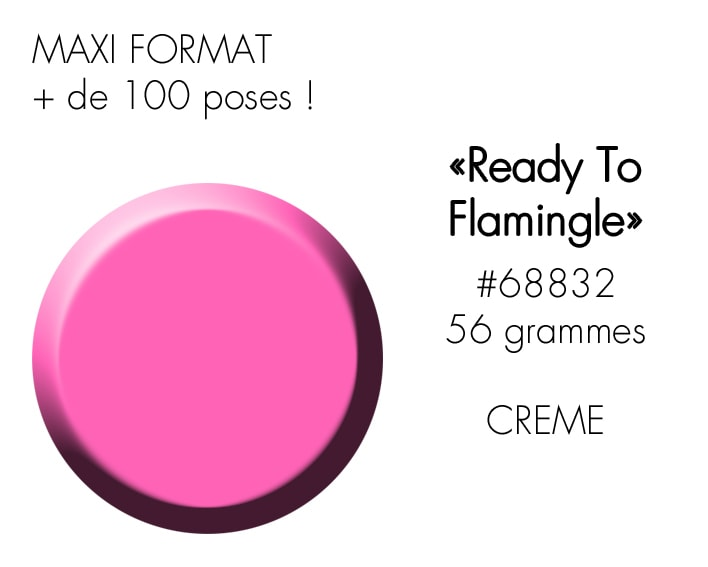 READY TO FLAMINGLE 56GR : ROSE GIRLY