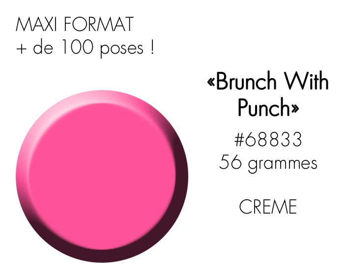 BRUNCH WITH PUNCH 56GR : ROSE HESTIVAL