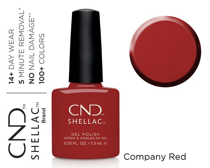 SHELLAC COMPANY RED