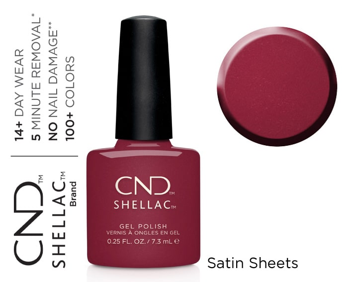 SHELLAC SATIN SHEETS 7,3ML