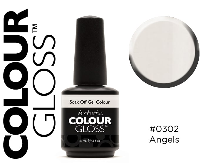 COLOUR GLOSS ANGELS / BLANC CRÈME