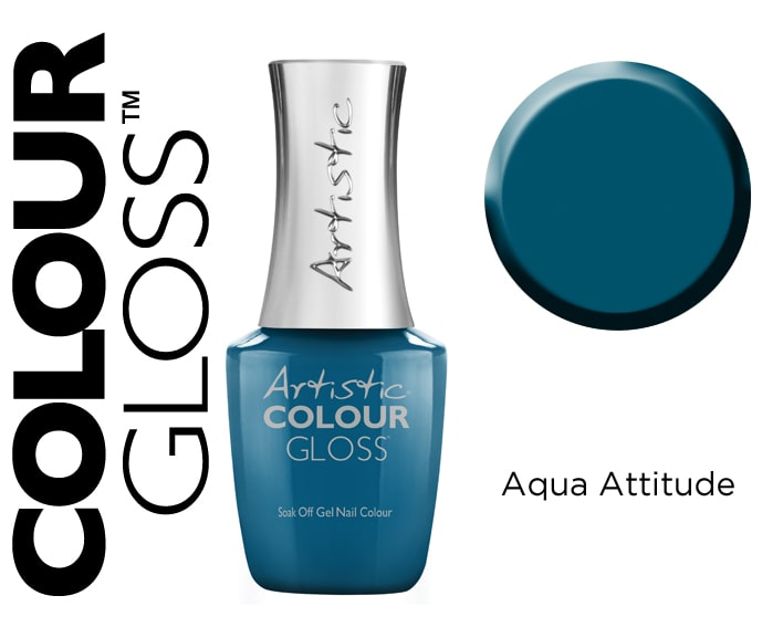 COLOUR GLOSS AQUA ATTITUDE 15ML