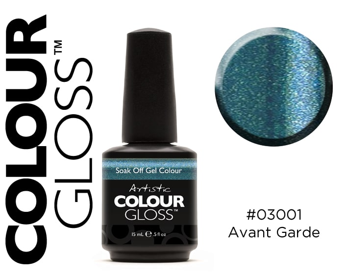 COLOUR GLOSS AVANT-GARDE / TURQUOISE