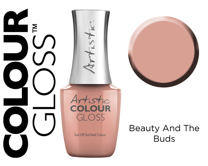 COLOUR GLOSS BEAUTY AND THE BUDS 15ML