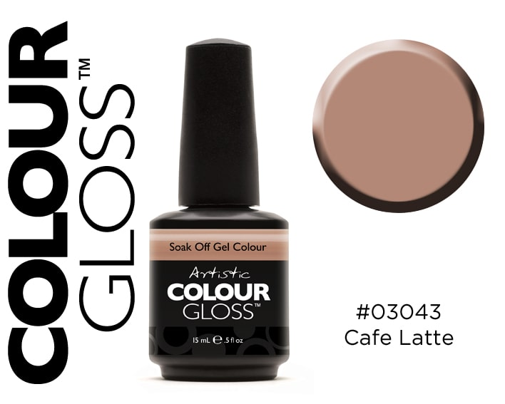 COLOUR GLOSS CAFFE LATTE /  CAFE AU LAIT