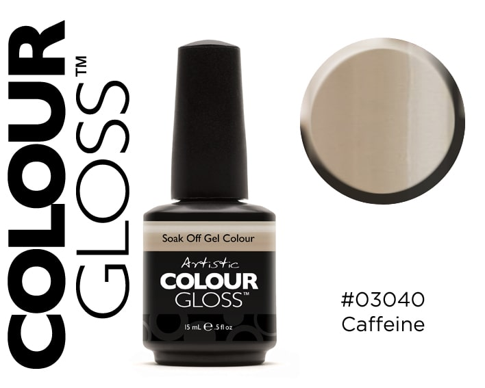 COLOUR GLOSS CAFFEINE / BEIGE GRIS CLAIR