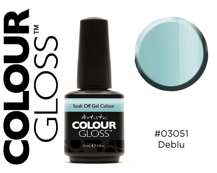 COLOUR GLOSS DEBLU / VERT CLAIR
