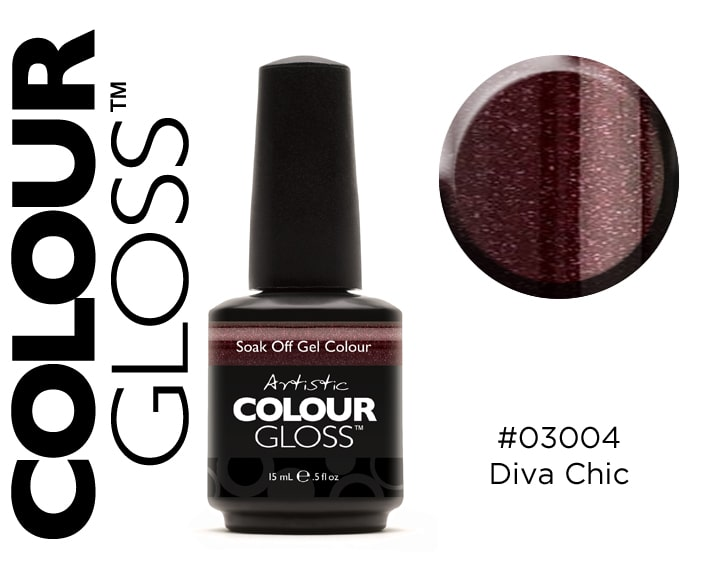 COLOUR GLOSS DIVA CHIC / BORDEAUX