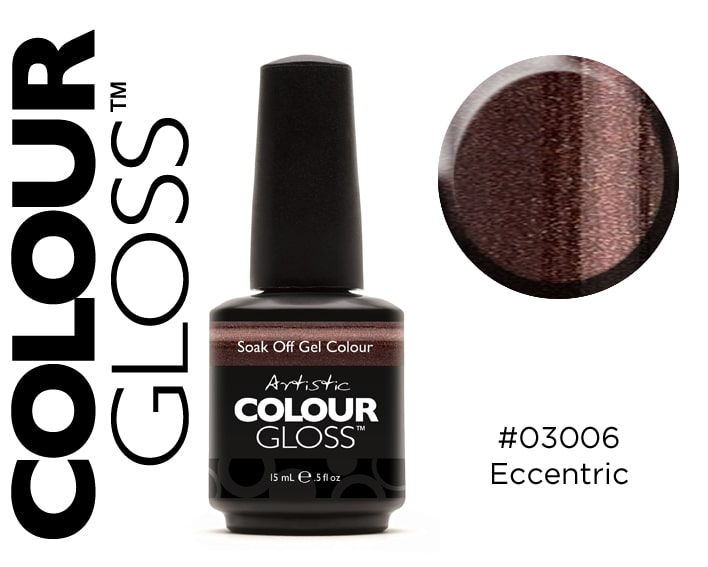 COLOUR GLOSS ECCENTRIC /  BRUN NOISETTE