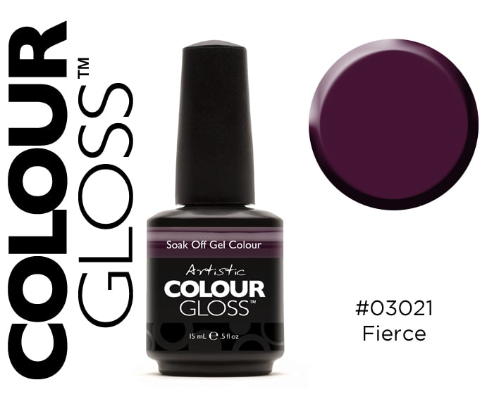 COLOUR GLOSS FIERCE / PRUNE