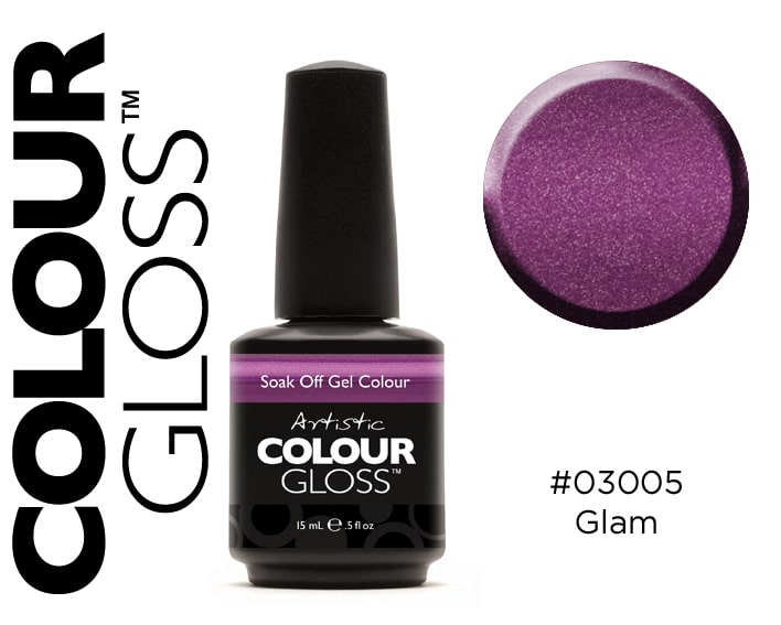 COLOUR GLOSS GLAM / VIOLET MÉTAL