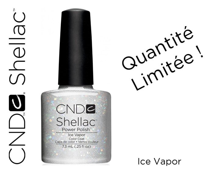 shellac ice vapor 7 3ml rbbe. Black Bedroom Furniture Sets. Home Design Ideas