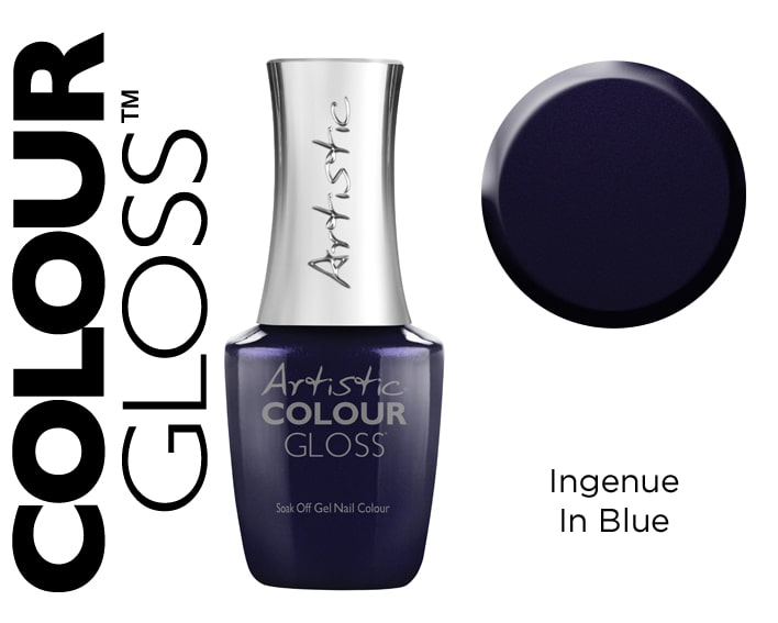 COLOUR GLOSS INGENUE IN BLUE 15ML
