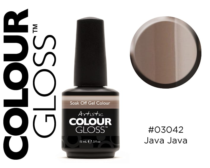 COLOUR GLOSS JAVA JAVA / TAUPE CLAIR