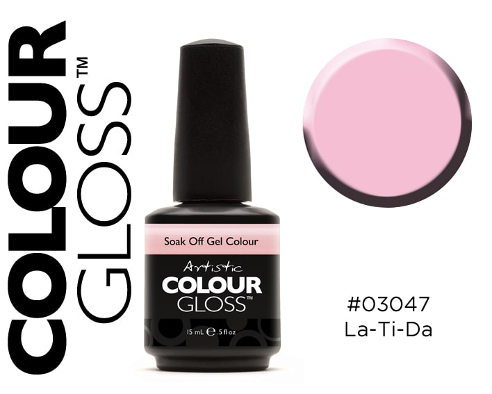 COLOUR GLOSS LATIDA /  ROSE PASTEL