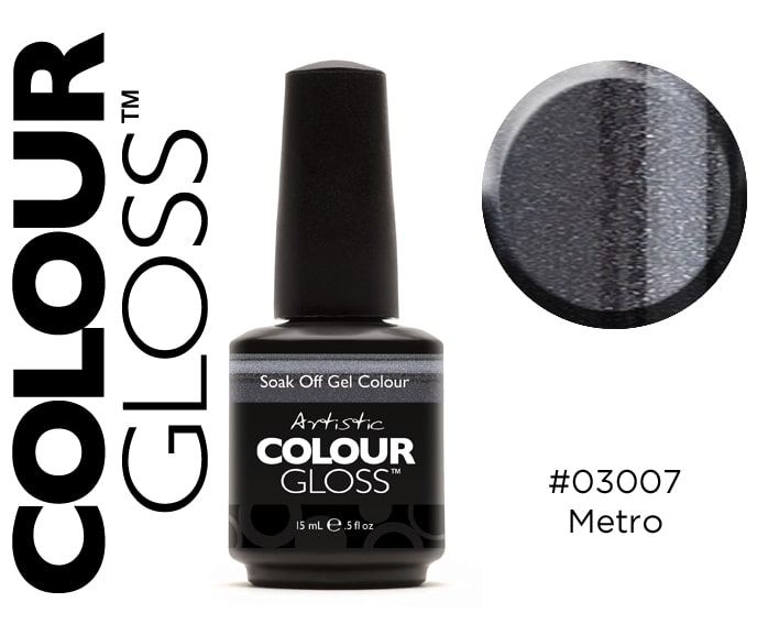 COLOUR GLOSS METRO - NOIR