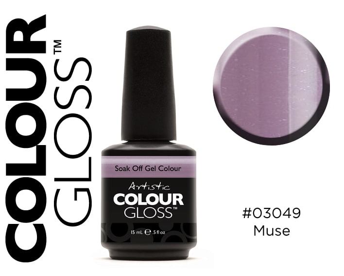 COLOUR GLOSS MUSE / GRIS PARME