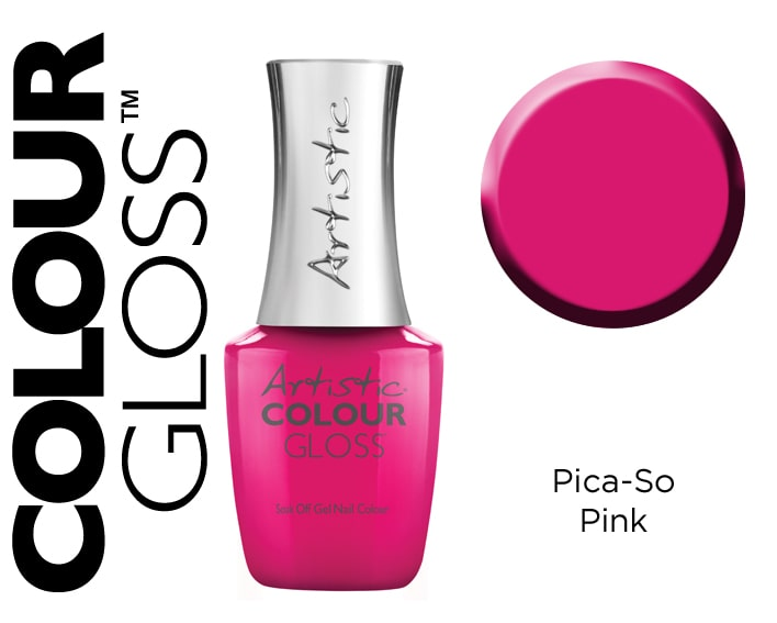 COLOUR GLOSS PICA-CO PINK 15ML