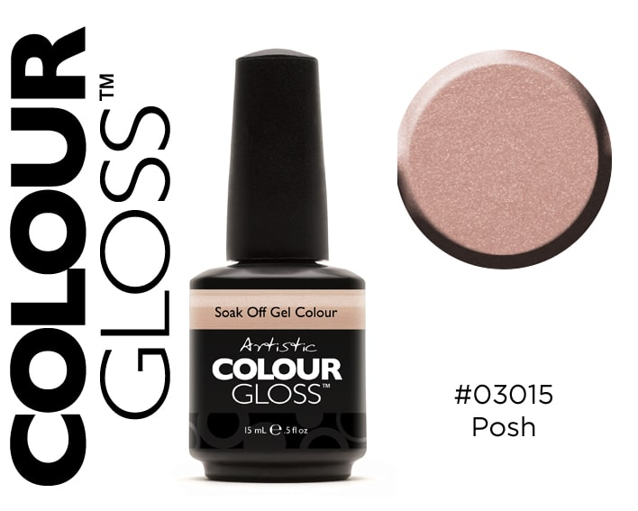COLOUR GLOSS POSH / BEIGE ROSÉ LÉGER