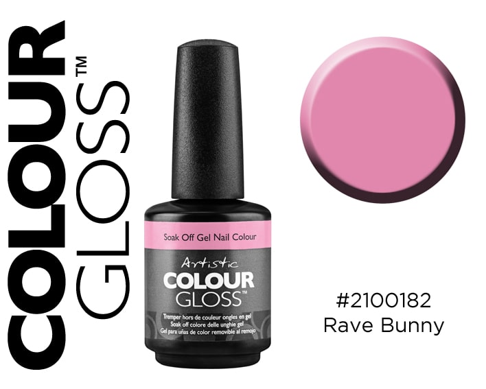 COLOUR GLOSS RAVE BUNNY 15ML