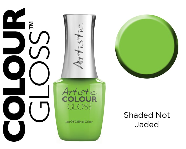 COLOUR GLOSS SHADED NOT JADED 15ML