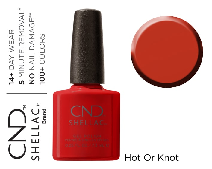 SHELLAC HOT OR KNOT 7.3ML