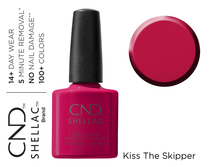 SHELLAC KISS THE SKIPPER 7.3ML