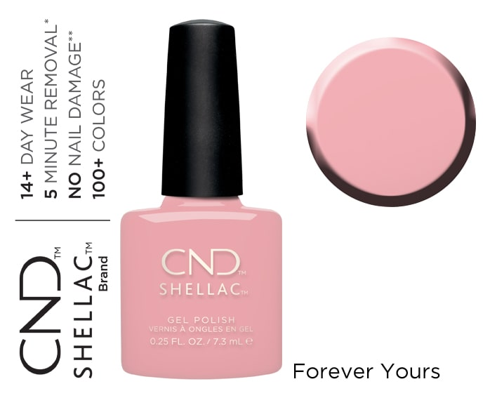SHELLAC FOREVER YOURS 7.3ML