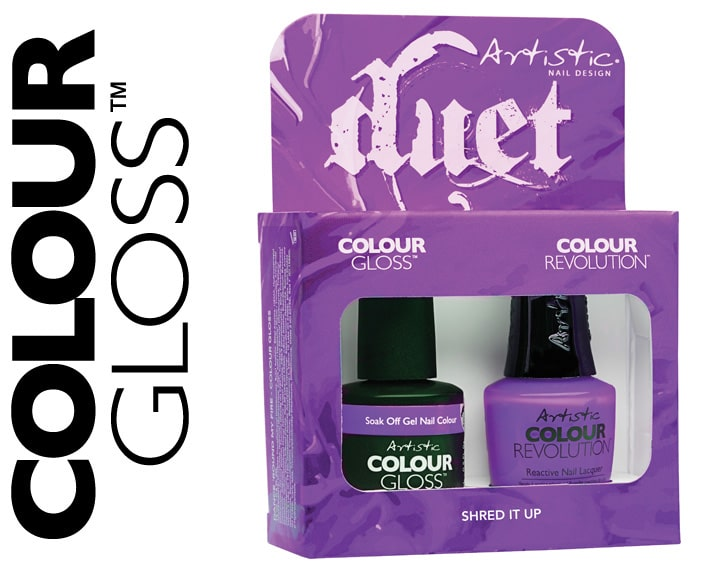 COLOUR GLOSS SHRED IT UP 15ML