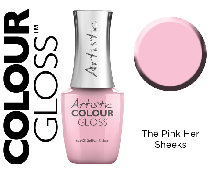 COLOUR GLOSS THE PINK HER SHEEKS 15ML