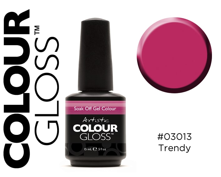 COLOUR GLOSS TRENDY / FRAISE