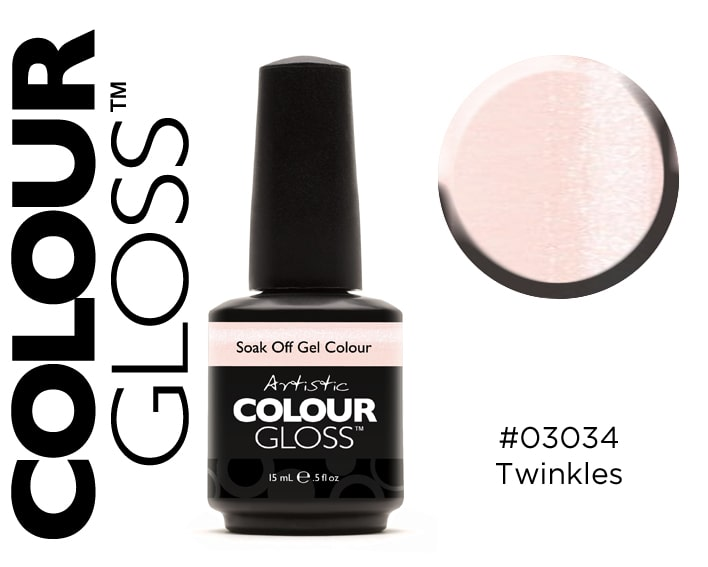 COLOUR GLOSS  TWINKLES / BEIGE CLAIR